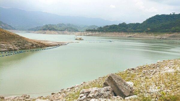 曾文水庫這波鋒面水量入帳不多,嘉南灌區二期稻作能否順利供灌還是未知數。 記者吳淑玲/攝影