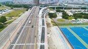 華中橋北向機慢車道 最快月底通車