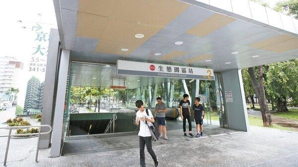 高雄生態園區捷運站商圈,生活機能超強,吸引愈來愈多人口進駐。 記者劉學聖/攝影