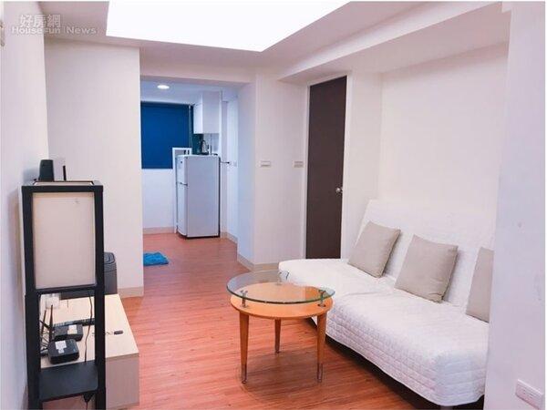 投客房通常乾淨整齊、家具感覺隨時都能搬走。(圖/好房網資料中心)