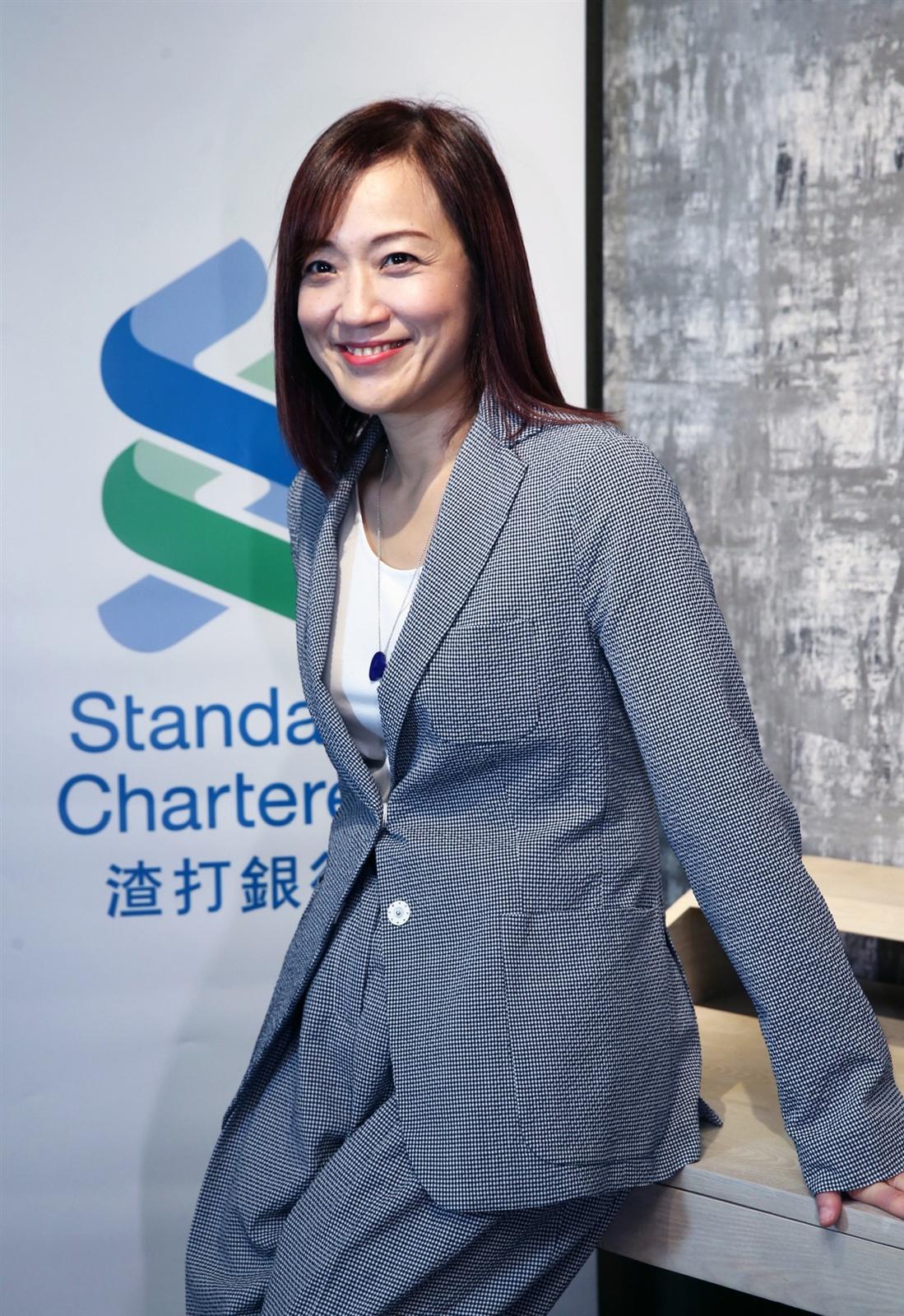 徐仲薇曾是發過20多張唱片的歌手,如今是渣打銀行東協暨南亞地區行政總裁,掌管該區域共15個市場、共計2萬2000名員工。記者徐兆玄/攝影