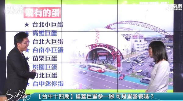 sway談台中巨蛋 (圖/擷取自好房網TV直播節目)