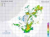最新/雨彈持續轟炸 雙北超大豪雨特報