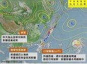 一張圖看未來一周台灣天氣受到哪些影響