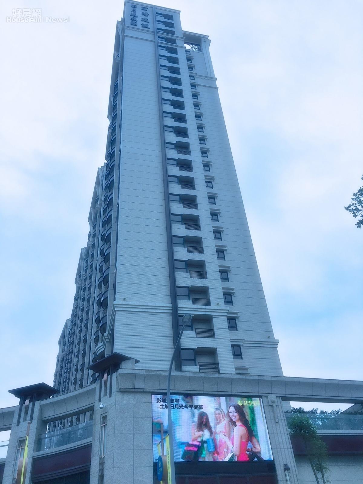 土城暫緩重劃區日月光廣場已展開招商。 好房網News記者楊欽亮 / 攝