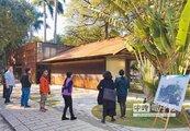 竹市護城河旁公廁啟用 首座免治馬桶開放