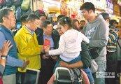 總統祝福滿滿 阿北送發財金