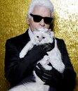 老佛爺的「邱比特」可能繼承遺產 成為世上最富有的貓
