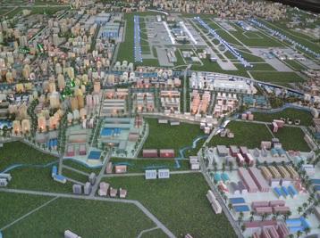 桃園航空城開發案又有進展,環評確定通過審查。(圖/擷取自桃園縣政府施政成果網站)
