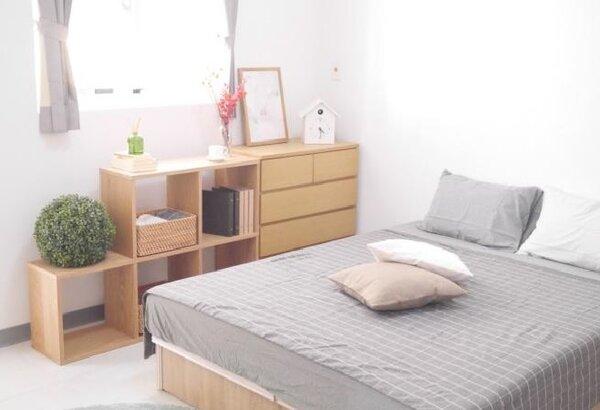 大里光正段社宅一房型樣品屋。(圖/中市住宅發展工程處提供)