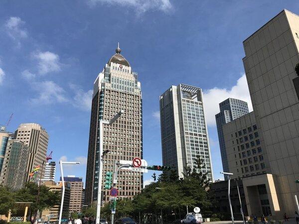 商辦大樓 記者游智文/攝影