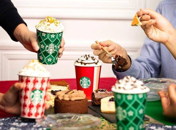 星巴克推出一連7天抽優惠活動。 圖片來源/星巴克咖啡同好會(Starbucks Coffee)