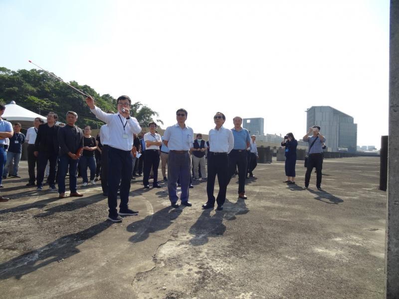南港機廠公宅基地位於台北市忠孝東路七段南側捷運南港機廠上方,面積約2萬3832坪。照片台北市都發局提供