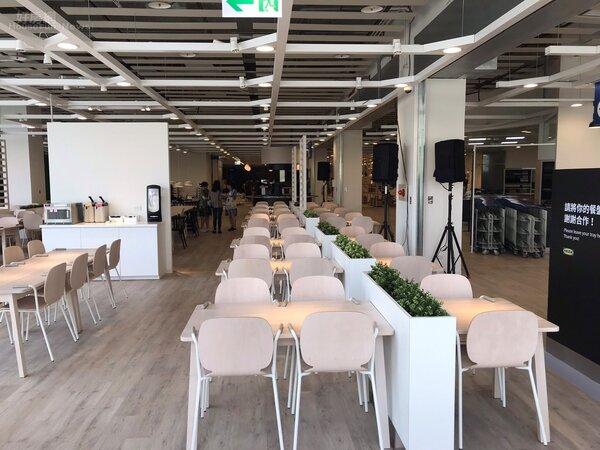 IKEA官方公布新店店商場數據,面積廣達6600坪。李彥穎攝