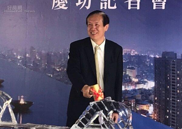 鄉林集團董事長賴正鎰表示,看好台商因為中美貿易戰催化,資金快速回游,因此他在下半年將會在台灣「大量購地」。李彥穎攝