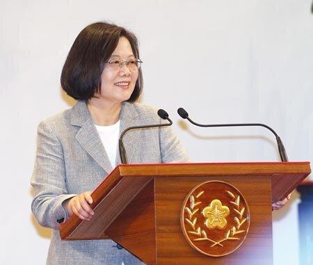 蔡英文總統  圖/陳怡誠