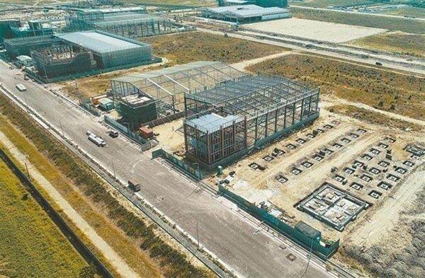 陸美貿易戰持續,台商返鄉設廠需求增加,圖為台南市加速開發新工業區,並提供優惠土地價格。(圖/台南市經發局提供)