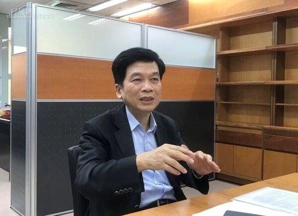 台北市都發局長黃景茂表示,他在台中市府時期,因為非常要求工程品質,幫助台中市拿下15座公共工程金質獎紀錄。李彥穎攝
