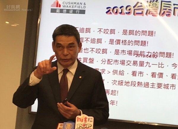 戴德梁行董事總經理顏炳立表示,東區不是租不出去,只要租金調到適當價位,商圈榮景就會回來。李彥穎攝