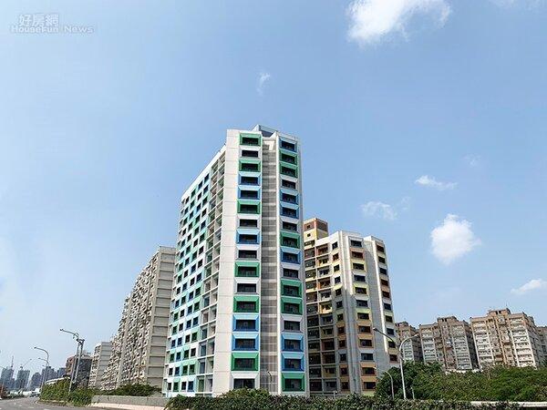 台北市都發局宣布,甫完工的青年一期公宅共計273戶,將於11日開始公開招租。翻攝台北市公共住宅招租網