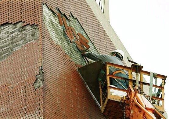 北市老屋外牆修繕補助4萬。(台北市建管處提供)