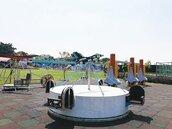 遊具燙、塵土多… 台南新特色公園玩得不安心