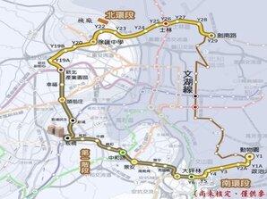 政院核定1,400億 蓋捷運環狀線二期