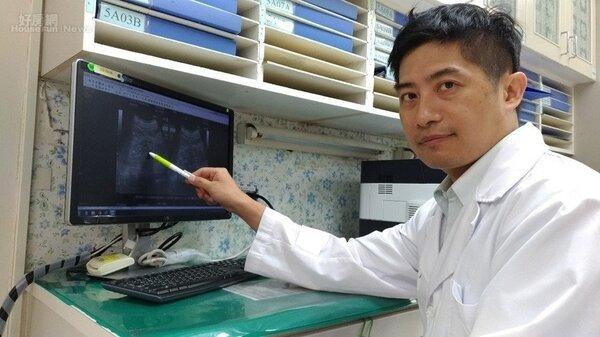 台大醫院新竹分院腎臟科醫師鄭暉騰提醒有中風史病人須留意喝水量。圖/台大醫院新竹分院提供
