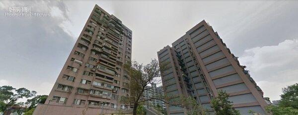 萬寧社區大樓因為屬於地上權國宅,每坪只要17萬就能買到。取自Google 地圖