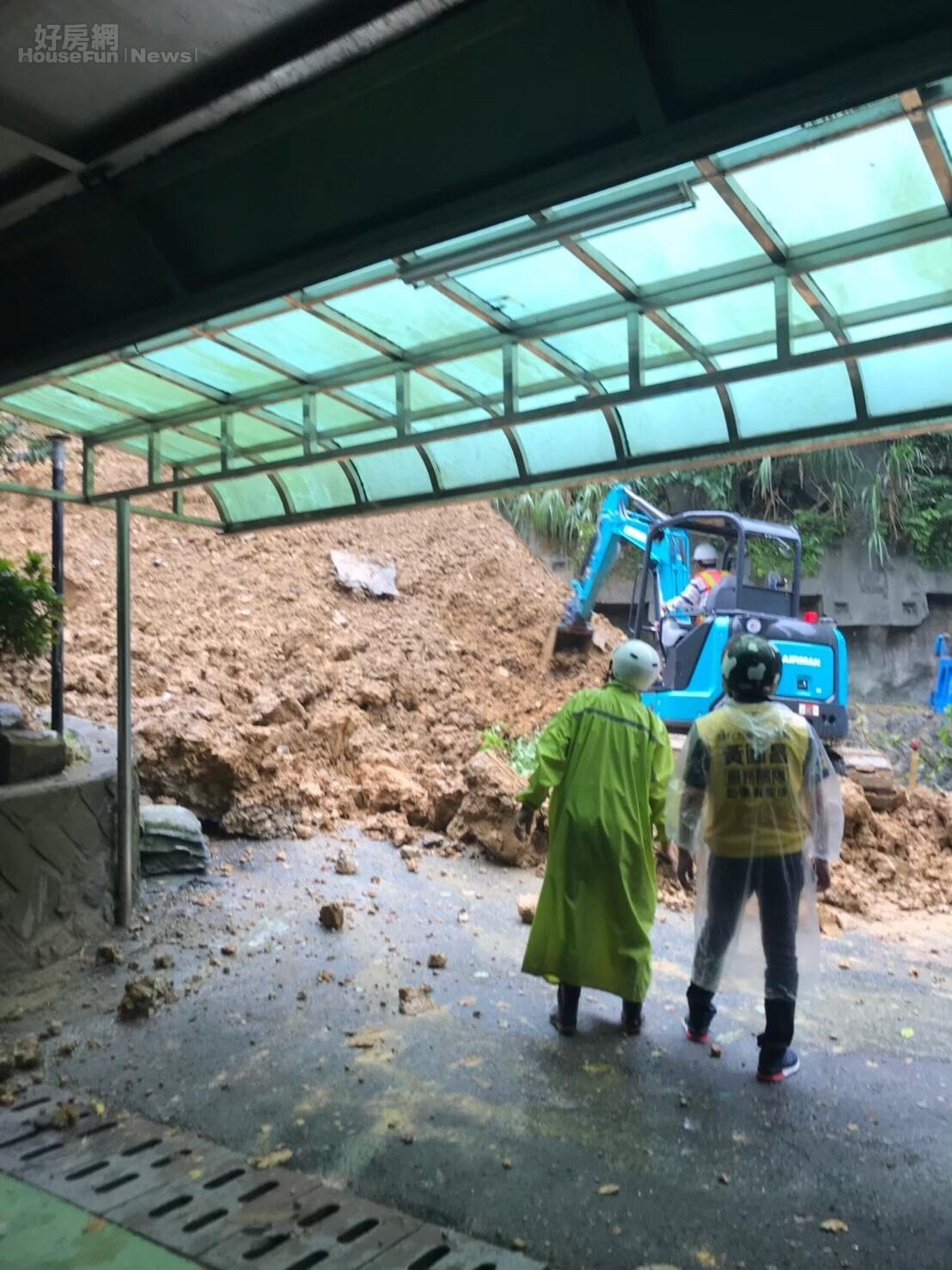 想要為愛屋加保土石流險,須注意地震險不理賠颱風引發的土石流,要另保山崩險。讀者提供