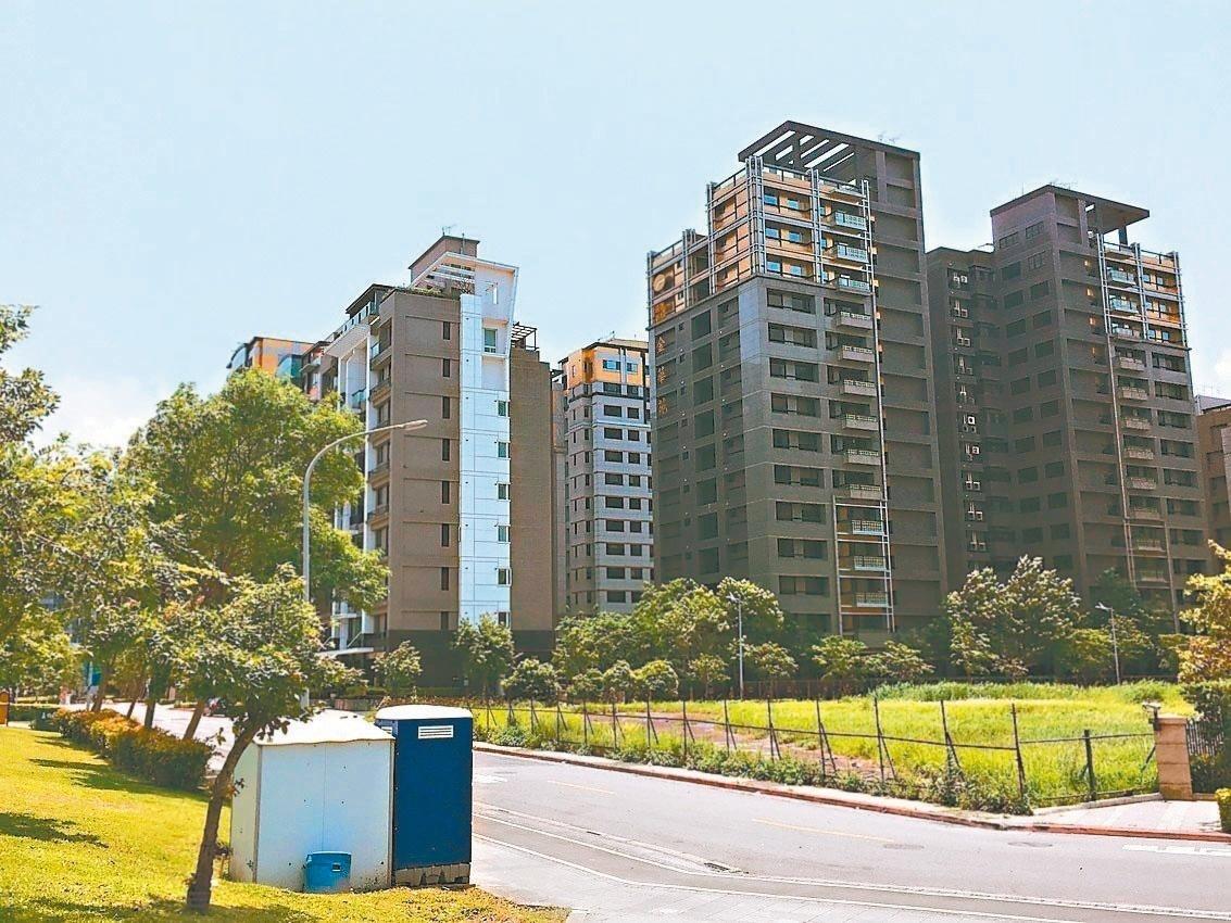 台北「內湖5期重劃區」鄰近內科園區,道路筆直、環境清幽。 記者張世杰/攝影