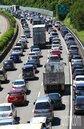 連假收假九路段塞爆 估國5上午湧現車潮