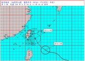 輕颱米塔明下半天最接近 北部東北部防淹水