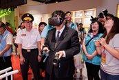 桃園防災館新亮點 VR、AR互動遊戲人氣旺