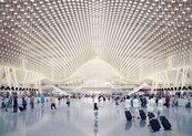 三航廈雲頂天花板就要17億 桃機請英國團隊修圖
