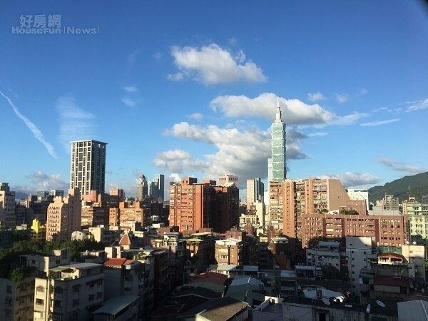 台北市景。 黃暐迪/攝影