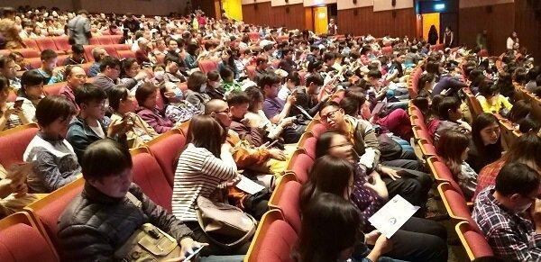 現場反應熱烈,從頭到尾毫無冷場,平常不看相聲的觀眾也非常開心。圖/永慶慈善基金會提供