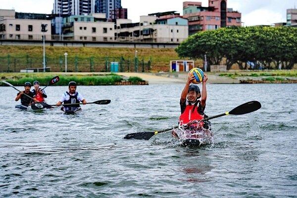 新北大都會公園北側的微風運河,為北台灣重要水上活動場所,也是國際知名水上競賽場地。圖/新北市政府提供