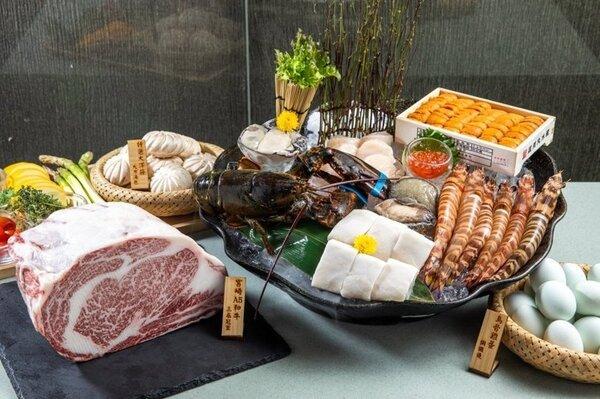 大方養生鐵板燒有14年歷史,主打用頂級食材和養生調理的方式呈現菜餚。圖/取自大方養生鐵板燒臉書專頁