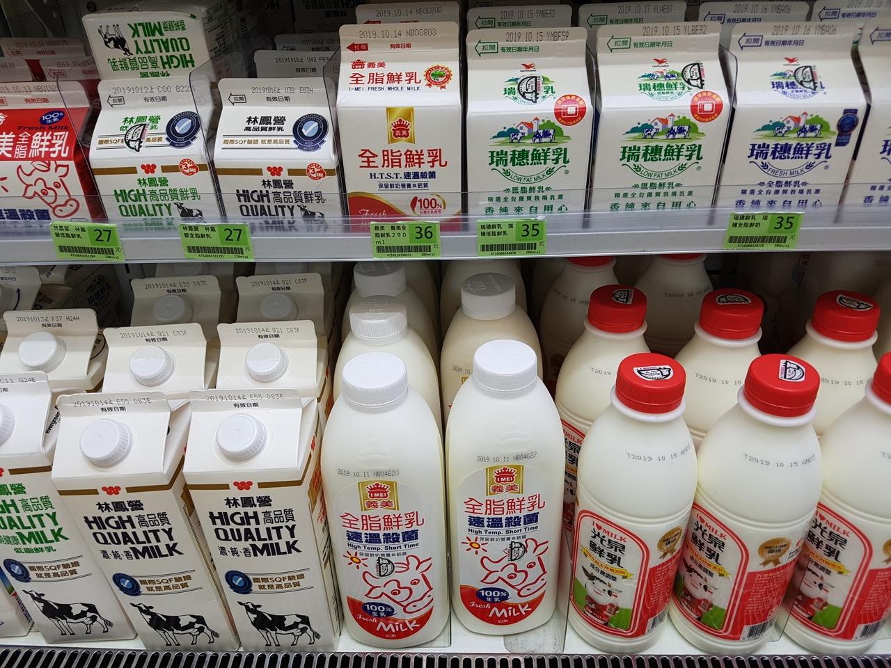 由於牛、羊會將牧草發酵產生反式脂肪,因此乳製品中也會有天然的反式脂肪。記者楊雅棠/攝影