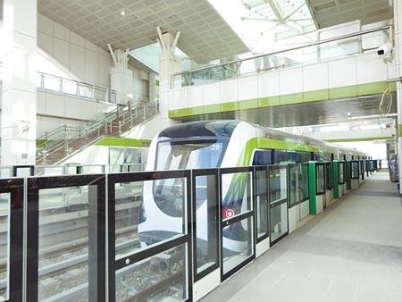 捷運綠線延伸遭交通部退件,中市府批卡住中台灣的期待,交通部30日提出協調折衷方案,化解僵局。(盧金足攝)
