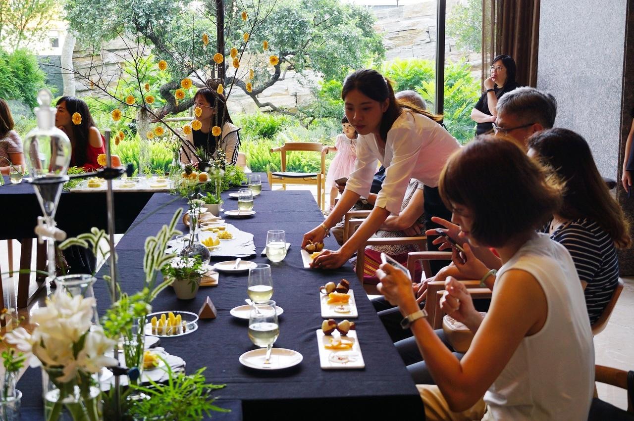 陸府首創社區生機廚房,提供有機餐食。記者游智文/攝影