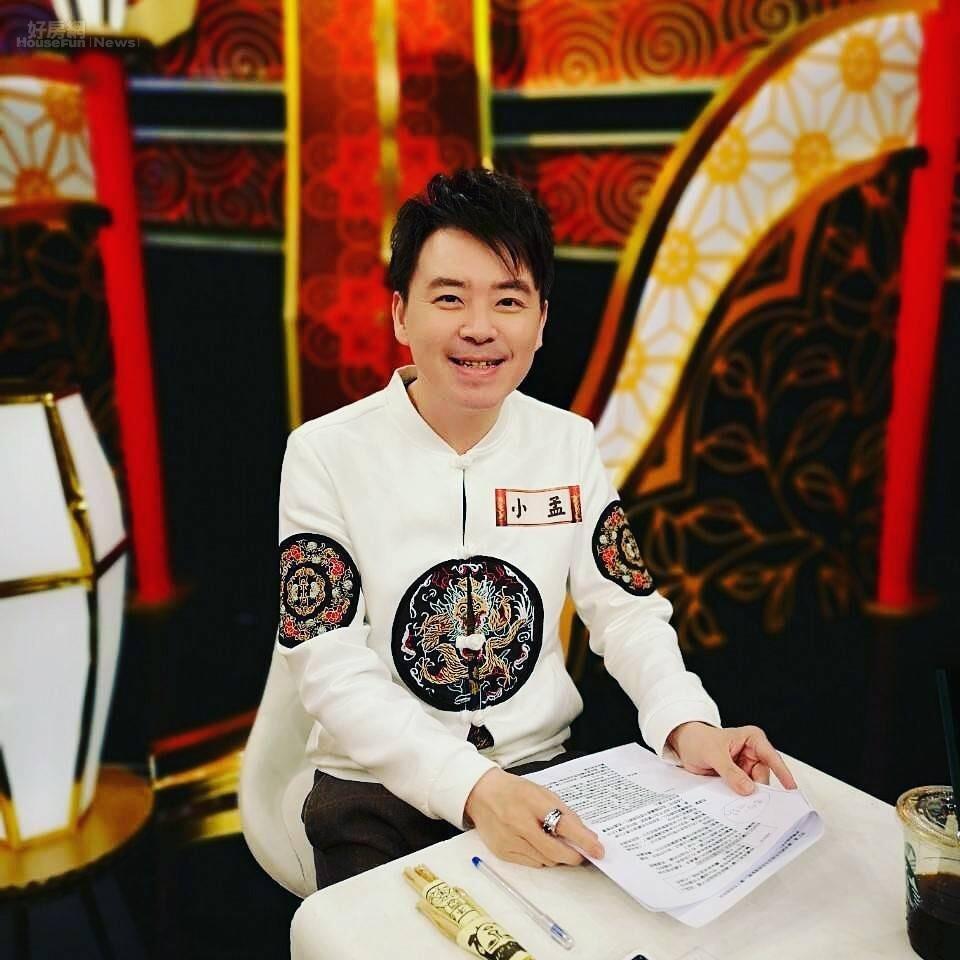 中華民國星相學會副理事長小孟老師。照片小孟老師提供