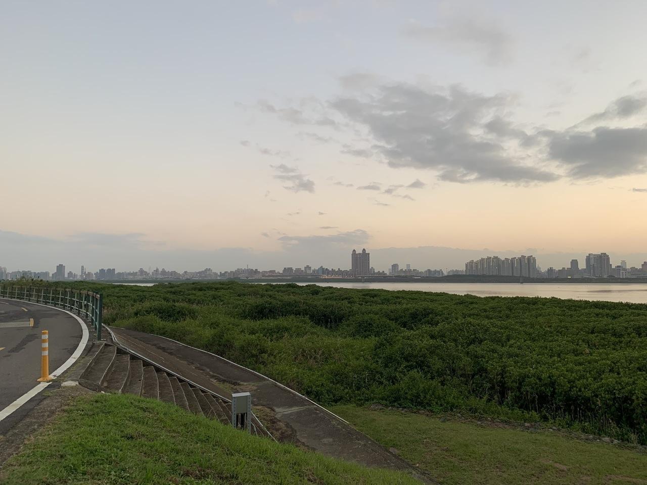 北市府推動社子島開發案,近期公布擬將7.9公頃「行水區」變成「河川區」。記者張世杰/攝影