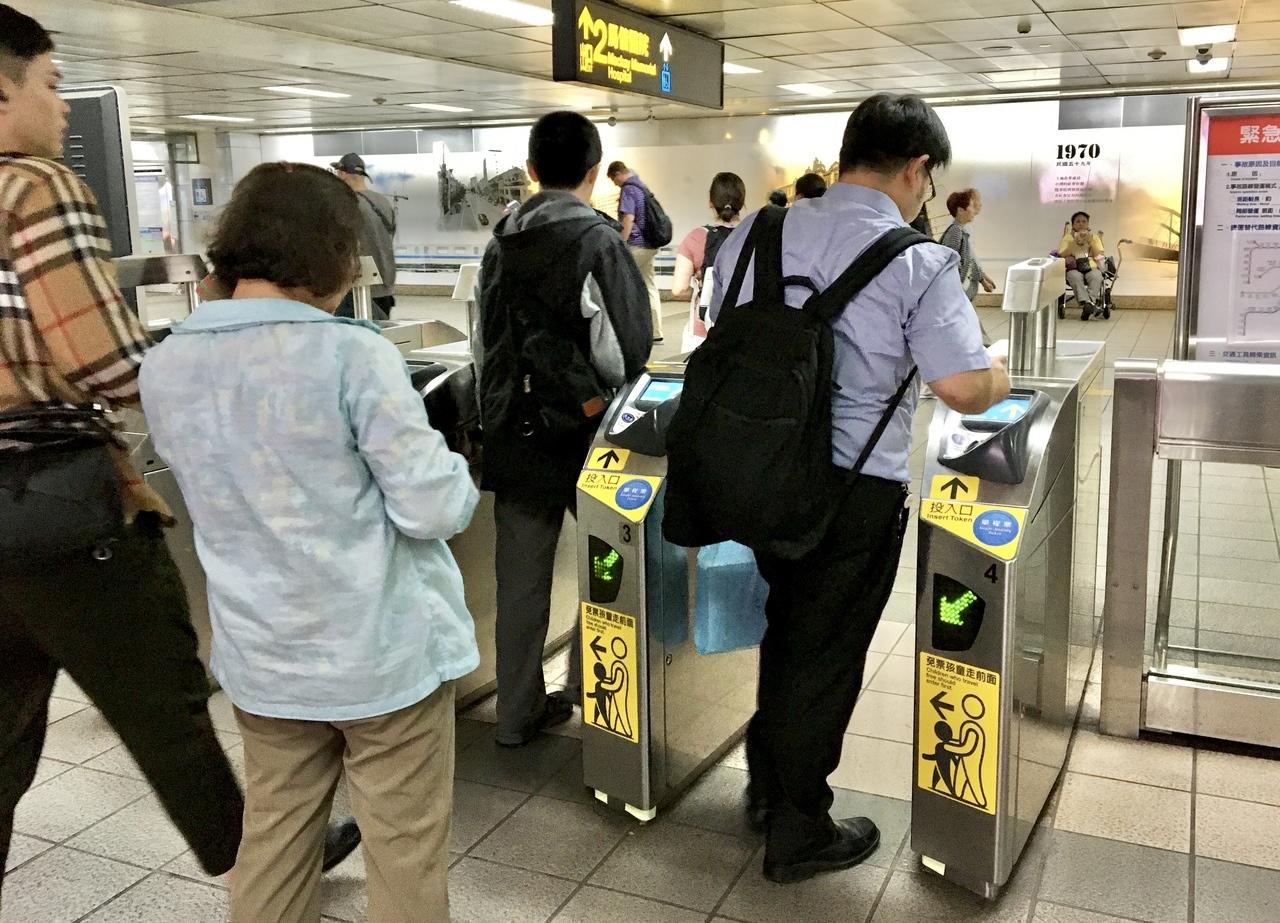 北捷將原先電子票證8折優惠,調整為「忠誠度回饋」優惠方案例。圖/記者郭頤攝影