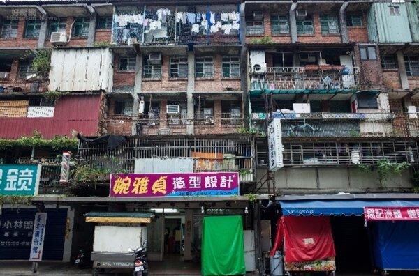 台北市南機場一期整宅。照片台北市都發局提供