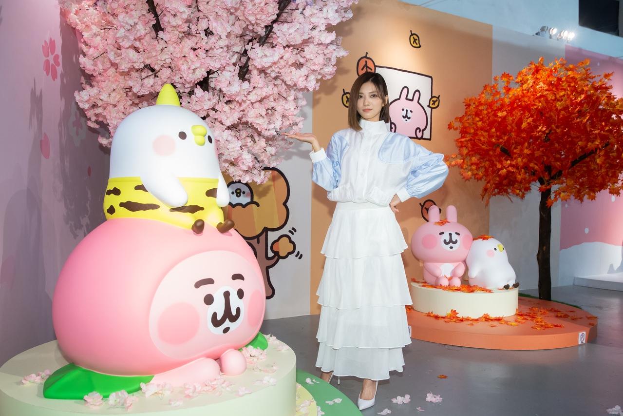 蔡黃汝參觀「卡娜赫拉展-小動物眼中的15年與未來」。圖/記者季相儒攝影