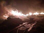 半年前才燒過 虎頭山垃圾場再大火 居民要求封場