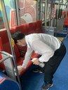 公共運輸防疫公車司機跟進北捷 全面戴口罩加強消毒