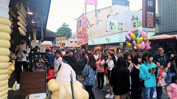 根據數據顯示,從小年夜到年初五的觀光人次,共計644萬。圖/台南市政府提供